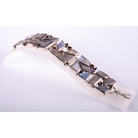 Bracelet argent Labradorite