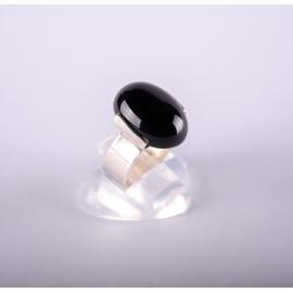 Bague Onyx noir