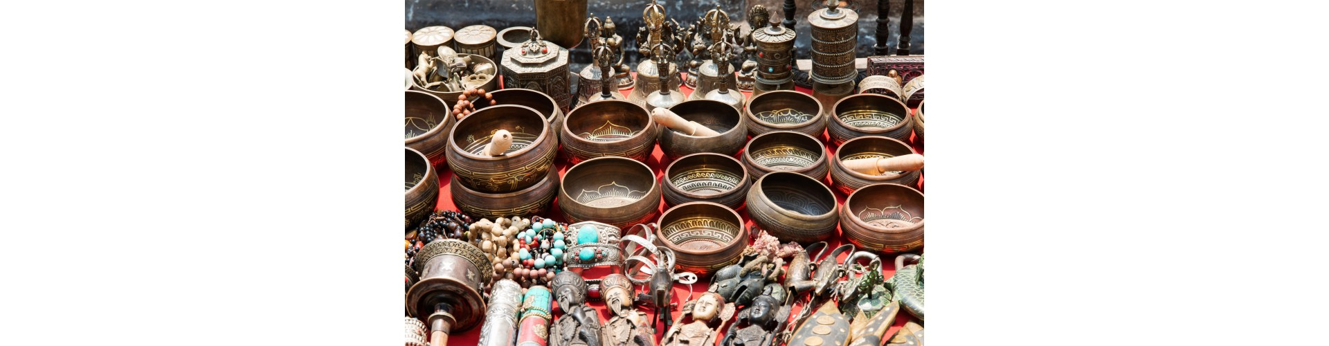 Bols chantants sept métaux